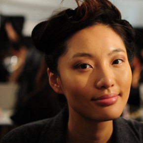 Bonnie Chen Backstage Dennis Basso