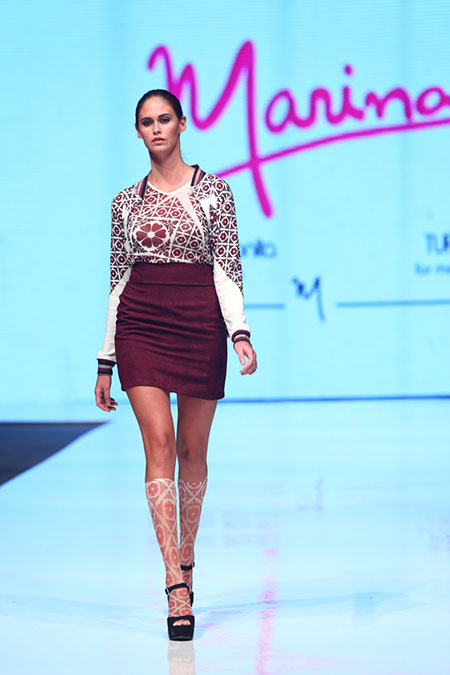 Marina Mejia Fall 2013 Peru Moda